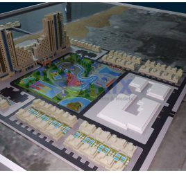 Al Fujariah water park and leisure complex Model